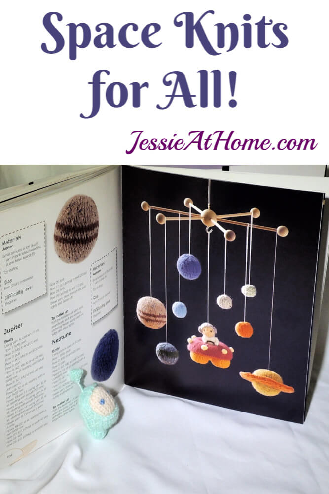 Space Knits for all! Mini Knitted Cosmos Book Review & Giveaway