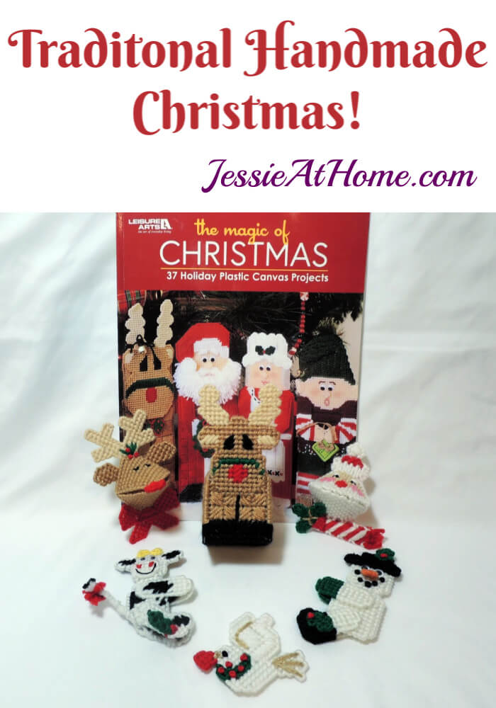 Plastic Canvas Christmas Decor and Ornaments