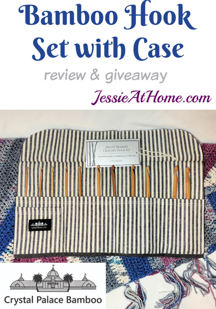 Bamboo Crochet Hook Set with Case from Crystal Palace – Review and AWESOME Giveaway!
