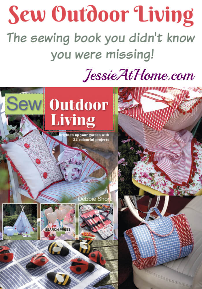 Sew Outdoor Living book review and giveaway from Jessie At Home