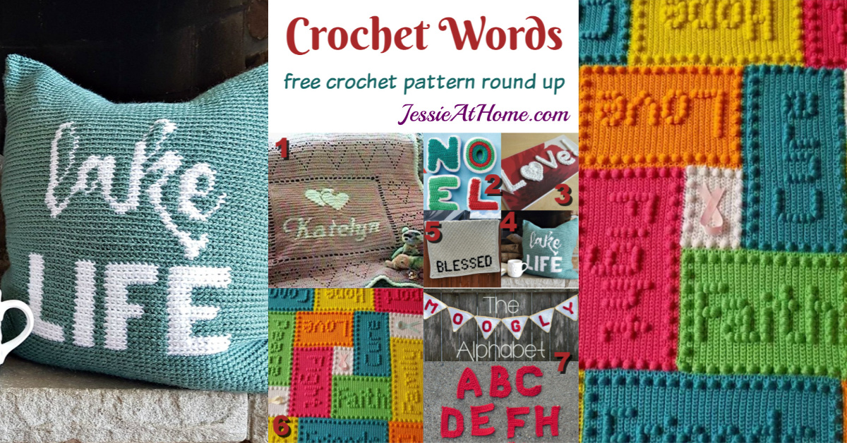 Crochet Words A Round Up Of Free Crochet Patterns With Words In Them