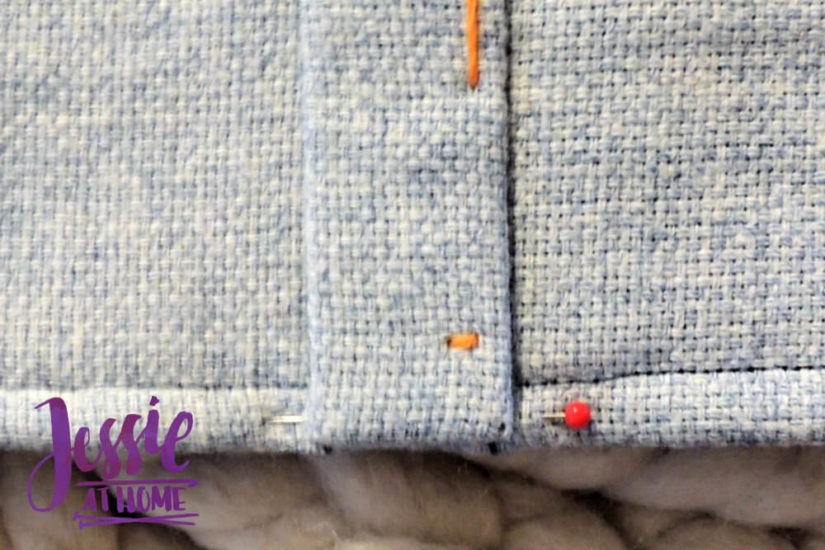 Embroidered Wrap Book DIY Bookmaking Tutorial by Jessie At Home - 16