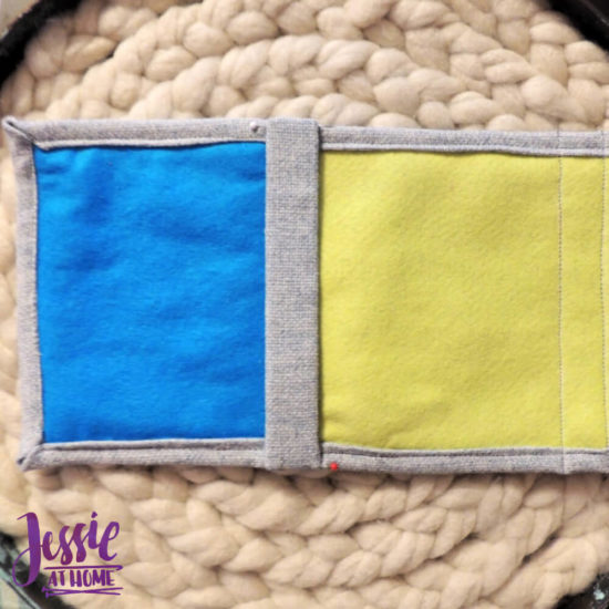 Embroidered Wrap Book DIY Bookmaking Tutorial by Jessie At Home - 20