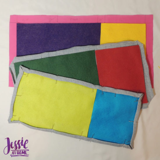 Embroidered Wrap Book DIY Bookmaking Tutorial by Jessie At Home - 4