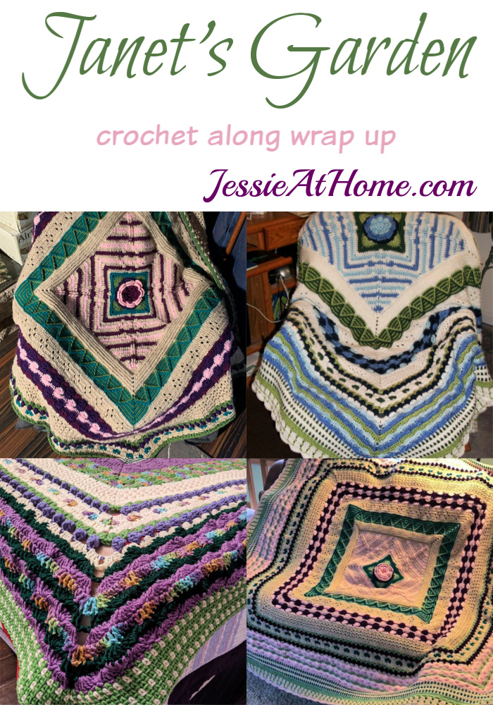 Janet's Garden Wrap Up – See some finished projects and read a story.