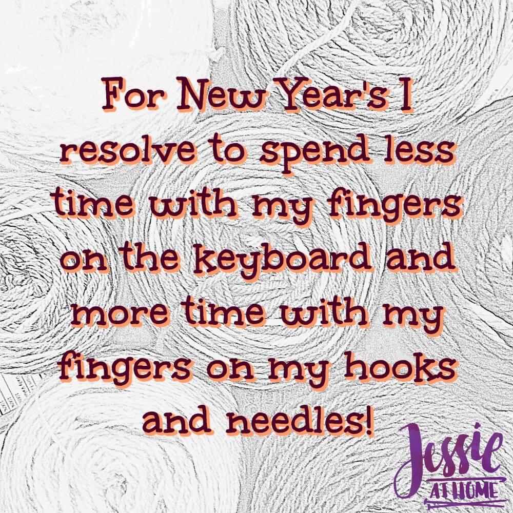 New Year\'s Yarn - Silly Saturday