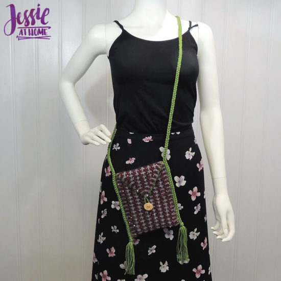 Quick Little Knit Bag - Knit Pattern by Jessie At Home - 3