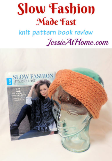 Slow Fashion Made Fast knit book review from Jessie At Home