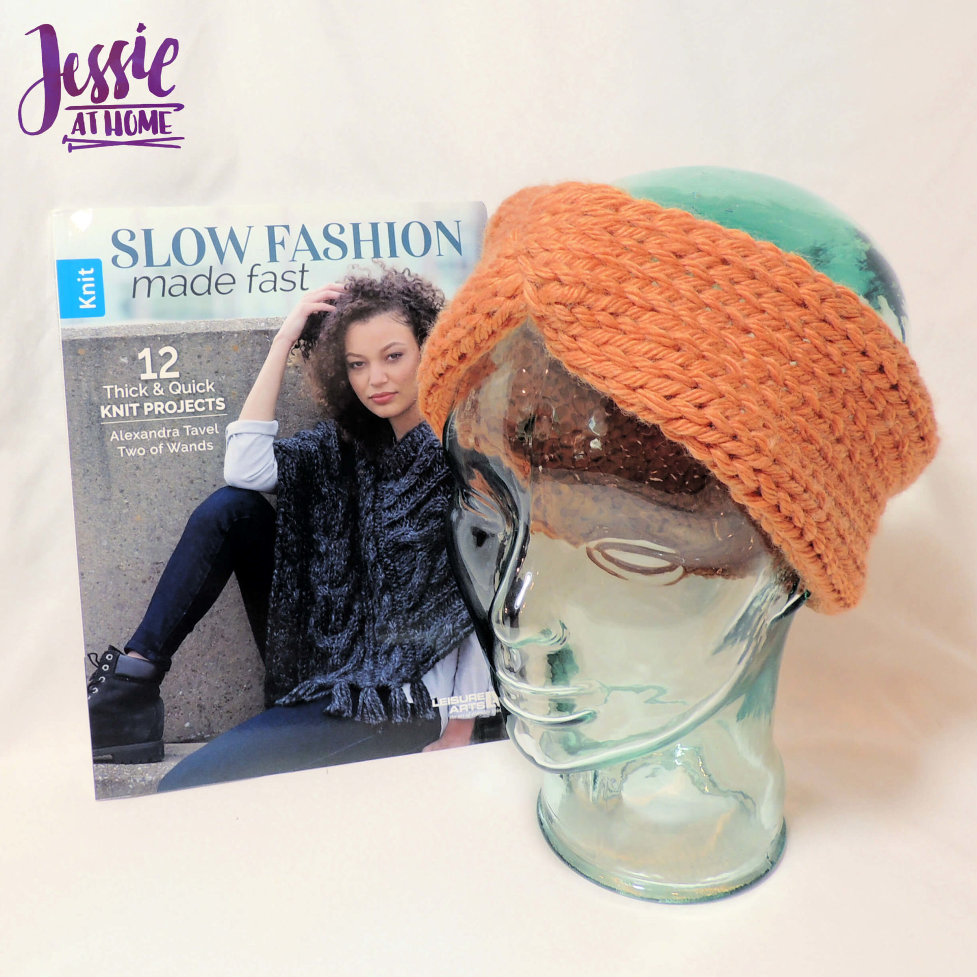 Slow Fashion Made Fast knit book review from Jessie At Home - Sample