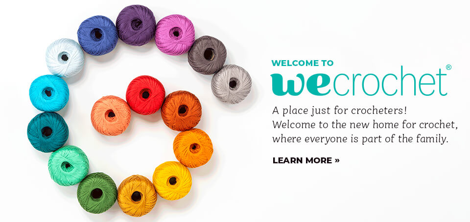 WeCrochet Introduction from Jessie At Home - Cover