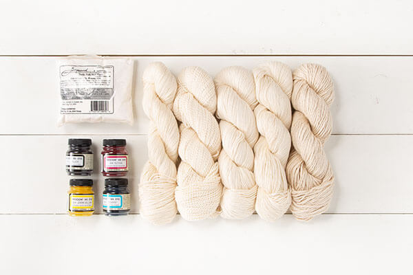 Adventures in Yarn Dying - Learn to Dye Part 1 of 5 from Jessie At Home - Dye Kit