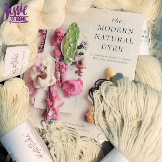 Adventures in Yarn Dying - Learn to Dye Part 1 of 5 from Jessie At Home - Yarn and Book