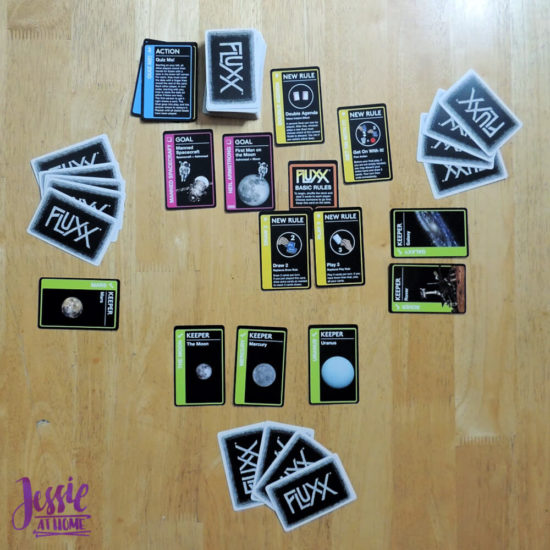 Astronomy Fluxx - outer space, family fun & even some education! - game review from Jessie At Home - Play Time