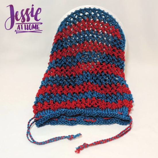 Camping Shower Bag knit pattern by Jessie At Home - 2