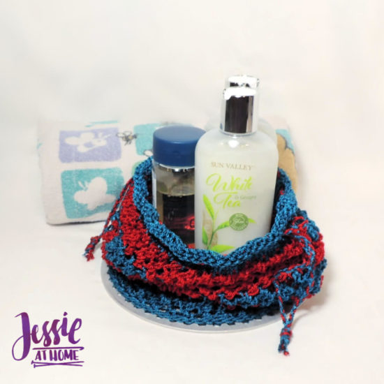 Camping Shower Bag knit pattern by Jessie At Home - 3