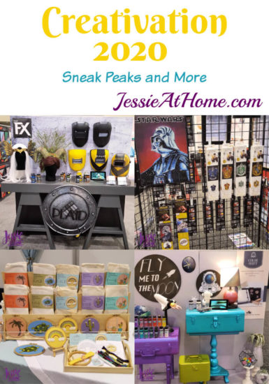 Creativation 2020 - Sneak Peaks and More - Wrap Up from Jessie At Home
