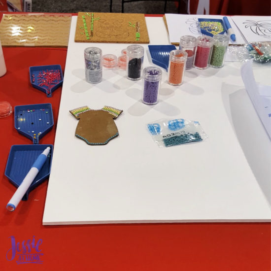 Creativation 2020 - Sneak Peaks and More - Wrap Up from Jessie At Home - Diamond Art Freestyle Fun