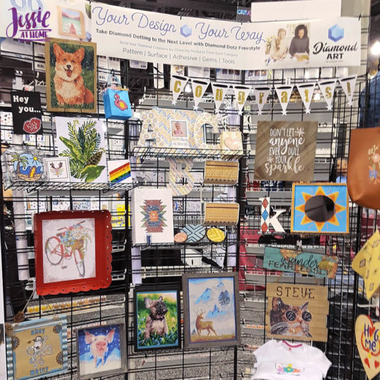Creativation 2020 - Sneak Peaks and More - Wrap Up from Jessie At Home - Diamond Art Ideas