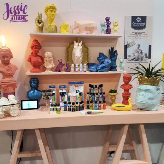 Creativation 2020 - Sneak Peaks and More - Wrap Up from Jessie At Home - Plaid Ceramcoat Acrylic