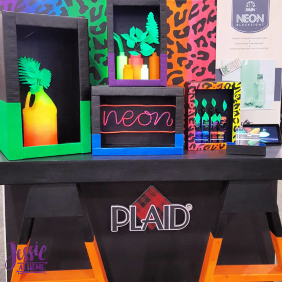 Creativation 2020 - Sneak Peaks and More - Wrap Up from Jessie At Home - Plaid Neon Blacklight