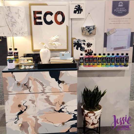 Creativation 2020 - Sneak Peaks and More - Wrap Up from Jessie At Home - Plaid Pouring Paint