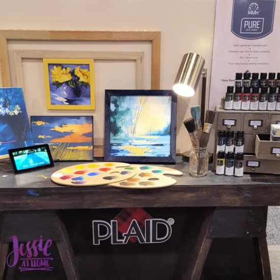 Creativation 2020 - Sneak Peaks and More - Wrap Up from Jessie At Home - Plaid Pure Artist Pigment