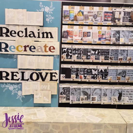 Creativation 2020 - Sneak Peaks and More - Wrap Up from Jessie At Home - Plaid Stencils