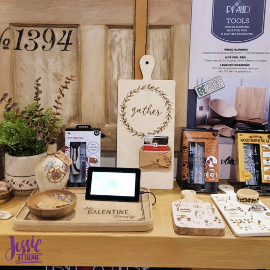 Creativation 2020 - Sneak Peaks and More - Wrap Up from Jessie At Home - Plaid Wood & Leather Burning