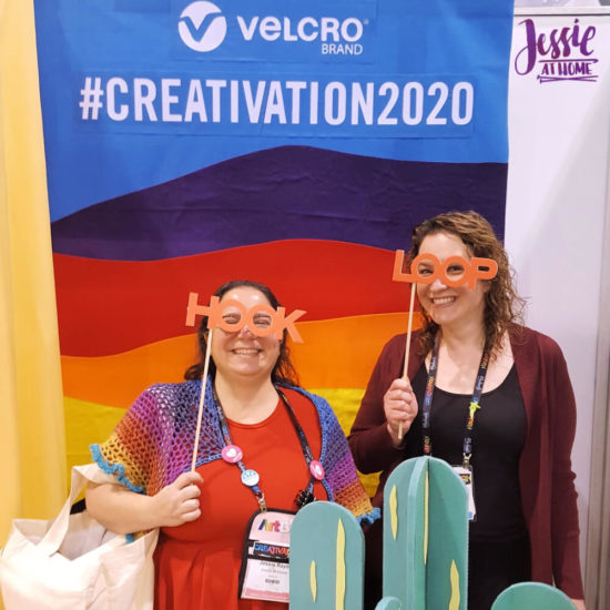 Creativation 2020 - Sneak Peaks and More - Wrap Up from Jessie At Home - Velcro Fun