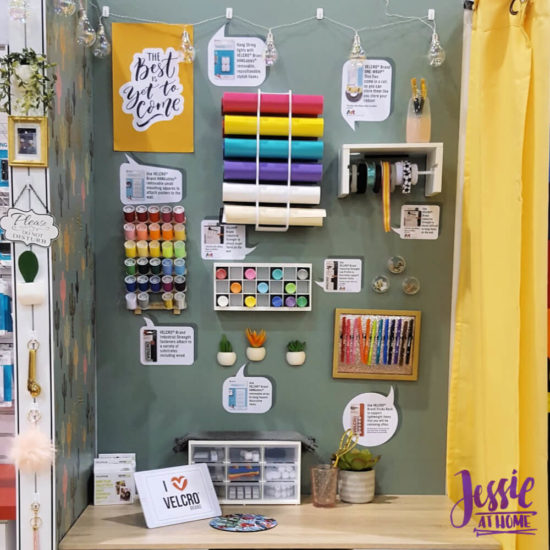 Creativation 2020 - Sneak Peaks and More - Wrap Up from Jessie At Home - Velcro Hanging