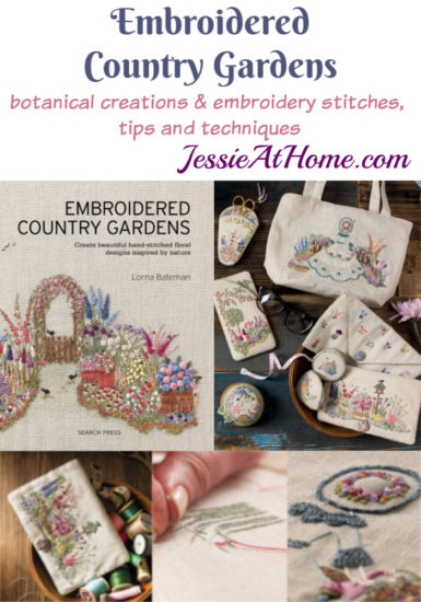 Embroidered Country Gardens - so many stitch ideas - review from Jessie At Home