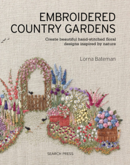 Embroidered Country Gardens - so many stitch ideas - review from Jessie At Home - Cover