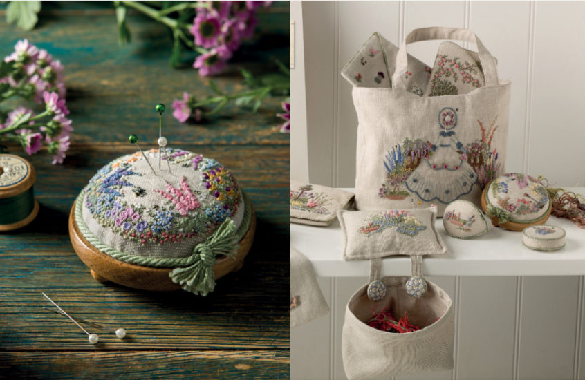 Embroidered Country Gardens - so many stitch ideas - review from Jessie At Home - So many ideas