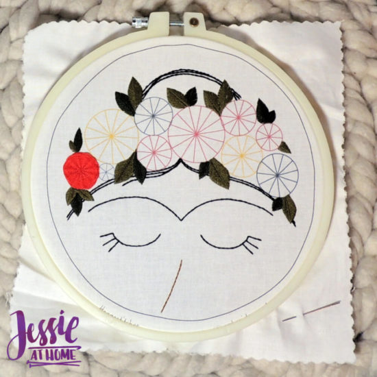 Embroidery and Sage - beautiful and moder embroidery kits review from Jessie At Home - Getting Started