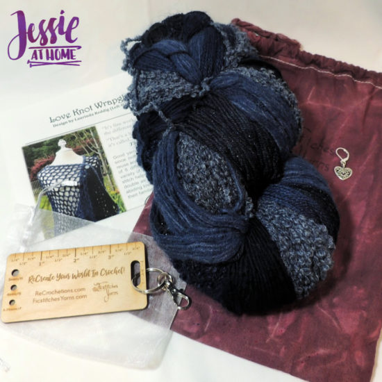 Ficstitches Yarn - combine two of your favorite hobbies - reveiw from Jessie At Home - So Much Insperation