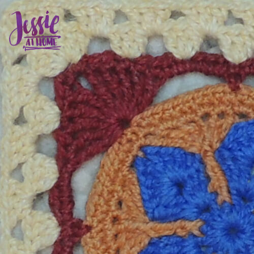 Ginny's Grannies Sampler - 2020 Blanket CAL by Jessie At Home - Teaser 3