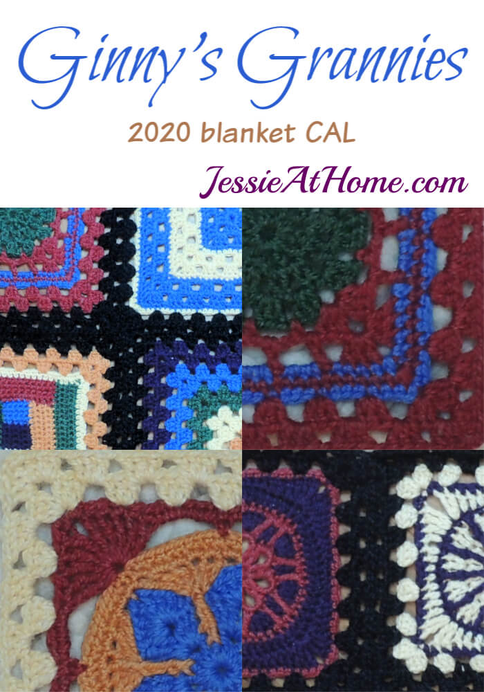 Ginny\'s Grannies Sampler - 2020 Blanket CAL Intro & Supply List