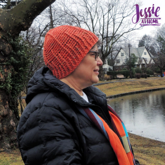 Dog Walker Hat with bonus leash crochet pattern by Jessie At Home - 2