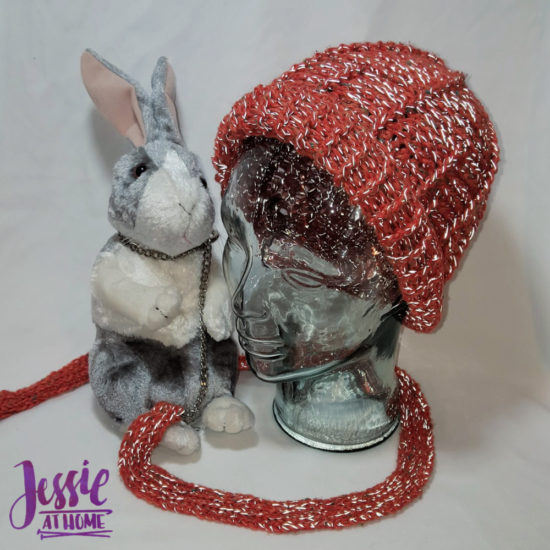 Dog Walker Hat with bonus leash crochet pattern by Jessie At Home - 3