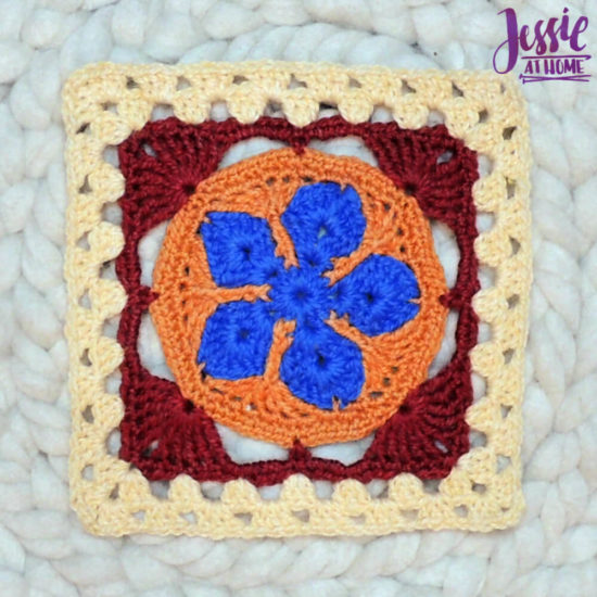 Granny Square Sampler Beginnings - Ginny's Grannies CAL Part 1 by Jessie At Home - Motif 5