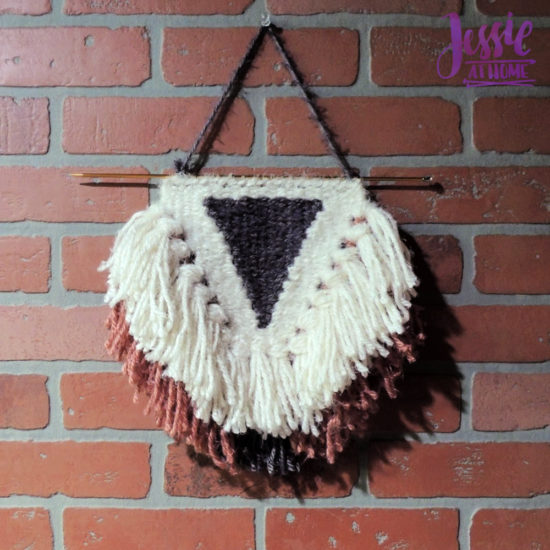 Learn to make Woven Wall Hangings - review by Jessie At Home - Fun and Done