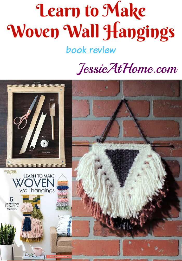 Learn to make Woven Wall Hangings - review by Jessie At Home