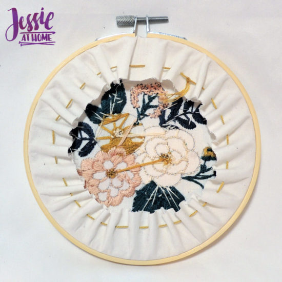 Mini Maker Embroidery Kits review and tips from Jessie At Home - Small Back