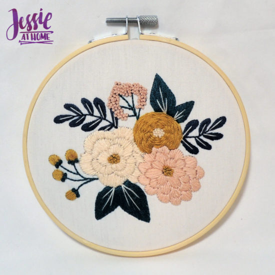 Mini Maker Embroidery Kits review and tips from Jessie At Home - Small Done