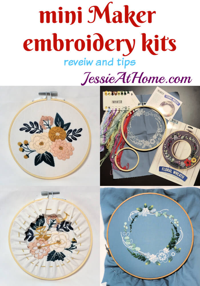 Mini Maker Embroidery Kits: review and tips