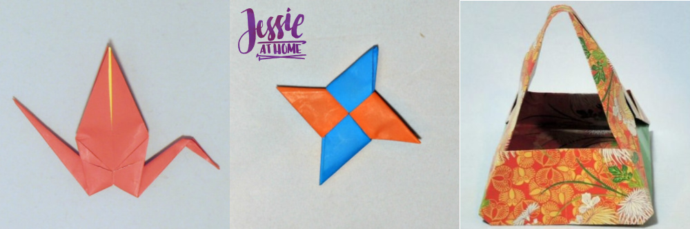 Free Craft Tutorials and where to buy craft supplies online Jessie At Home - Origami