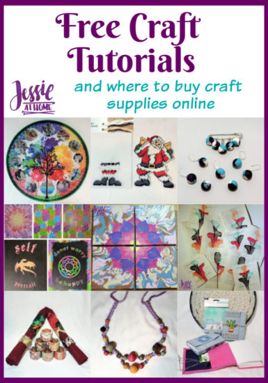 Free Craft Tutorials and where to buy craft supplies online Jessie At Home - Pin 1