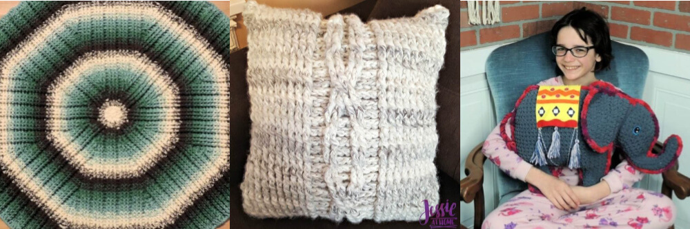 Free cozy crochet patterns by Jessie At Home