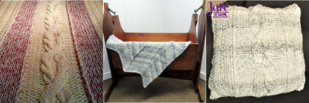 Free cozy knit patterns by Jessie At Home