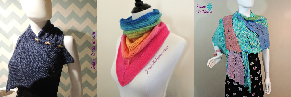 Popular free knit patterns by Jessie At Home
